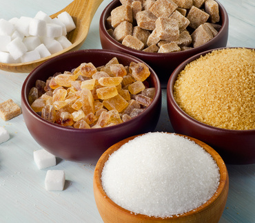 sugar comes in many form and types