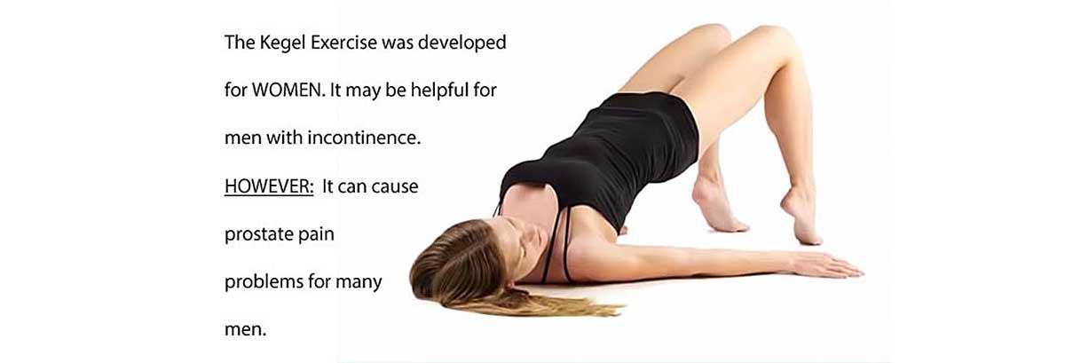 kegel exercise is not for men