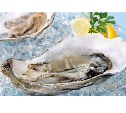 zinc from oysters and shellfish for prostate health