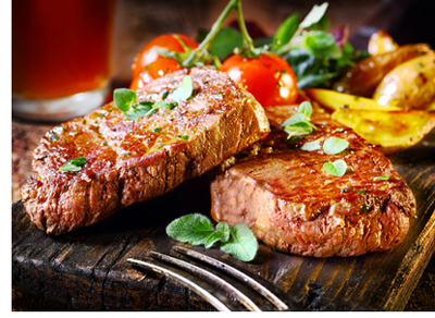 food for good prostate health includes red meat