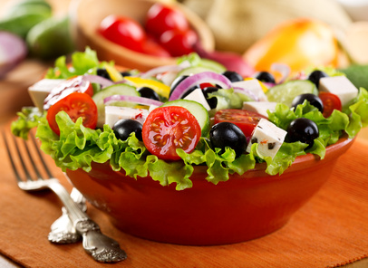 tasty salads are part of the Paleo primitive diet