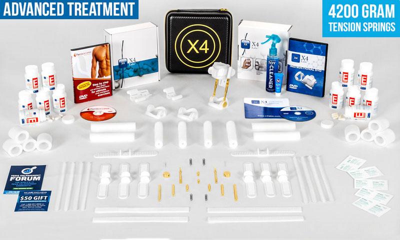 penis curvature treatment x4 labs