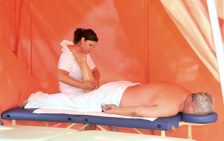 massage therapy and improved health